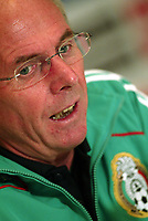 SVEN GORAN ERIKSSON , head coach of the selection of Mexico, giving a Press Conference at the Sutton Place Hotel in Canada after the Match between Mexico and Canada.<br /> 14 October 2008.<br /> <br /> ©PikoPress