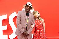Samuel L. Jackson, Holly Hunter, Incredibles 2 - UK Premiere, BFI Southbank, London, UK, 08 July 2018, Photo by Richard Goldschmidt