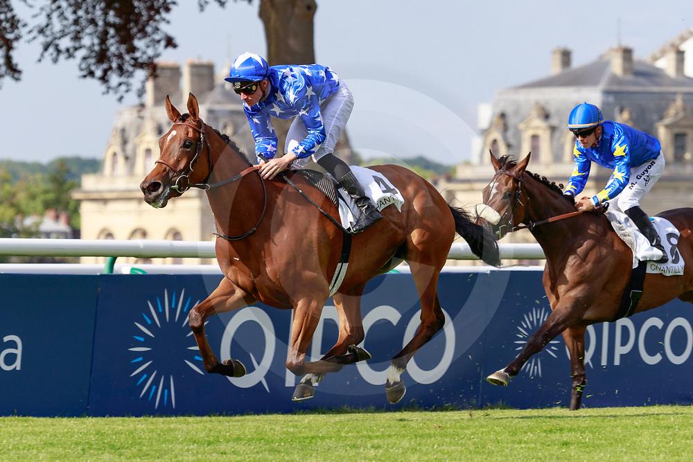 Pelligrina (PC. Boudot) wins Prix de Royaumont Gr.3  in Chantilly, France 02/06/2019, photo: Zuzanna Lupa