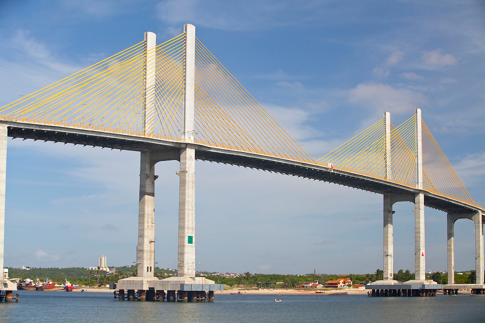 Natal_RN, Brasil.<br /> <br /> Ponte Newton Navarro em Natal, Rio Grande do Norte.<br /> <br /> Newton Navarro bridge in Natal, Rio Grande do Norte.<br /> <br /> Foto: RODRIGO LIMA / NITRO.