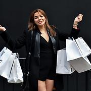 Fashionista attend London Fashion Week Festival last day, London, UK