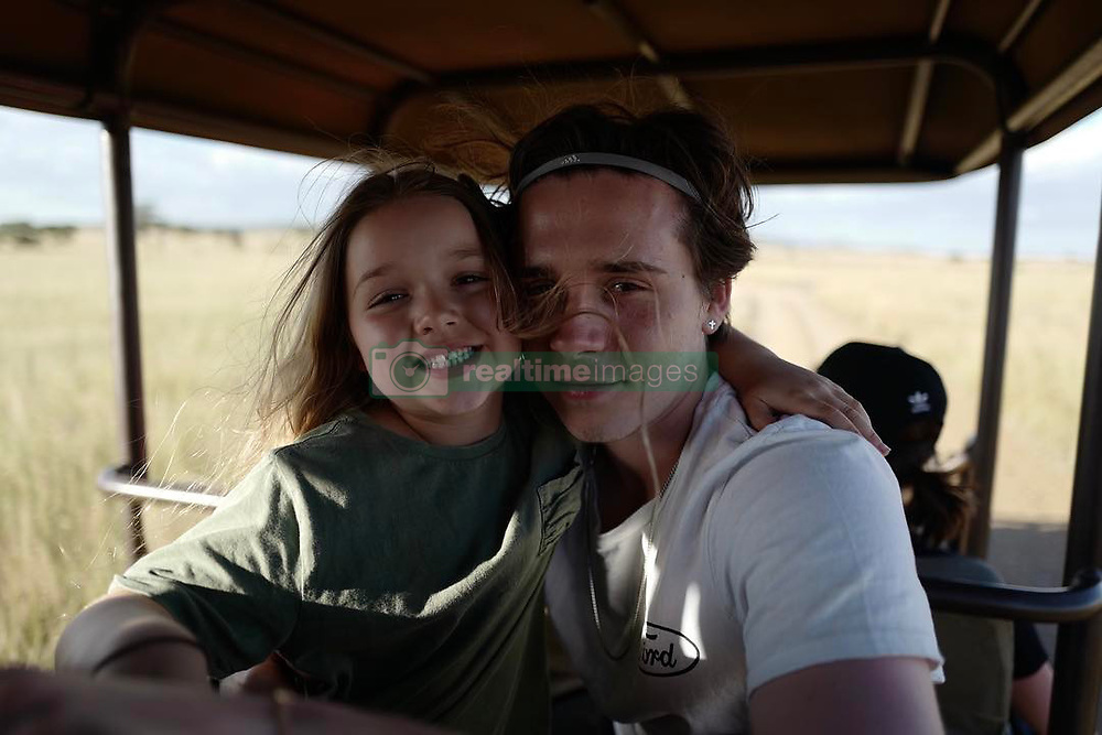 """Brooklyn Beckham releases a photo on Instagram with the following caption: """"Happy birthday to my little sister. Love you so much \u2764"""". Photo Credit: Instagram *** No USA Distribution *** For Editorial Use Only *** Not to be Published in Books or Photo Books ***  Please note: Fees charged by the agency are for the agency's services only, and do not, nor are they intended to, convey to the user any ownership of Copyright or License in the material. The agency does not claim any ownership including but not limited to Copyright or License in the attached material. By publishing this material you expressly agree to indemnify and to hold the agency and its directors, shareholders and employees harmless from any loss, claims, damages, demands, expenses (including legal fees), or any causes of action or allegation against the agency arising out of or connected in any way with publication of the material."""