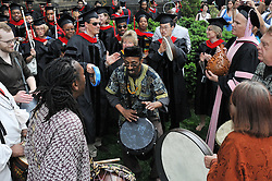 Divinity School Folks @ Yale University Commencement 2009, Congregation and Activities before the Ceremony on Cross Campus