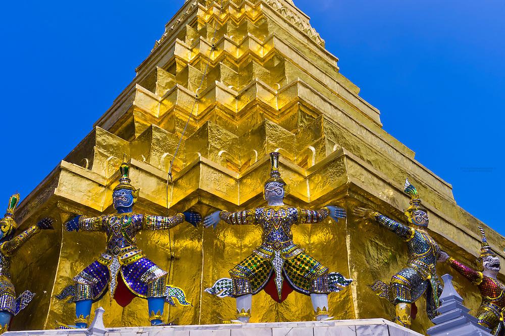 Garuda sculptures, Grand Palace, Bangkok, Thailand