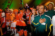 Dutch supporters at the world cup soccer in South Africa<br /> Oranjesupporters tijdens het WK Voetbal in Zuid-Afrika.