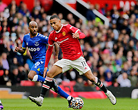 Football - 2021 / 2022 Pre-Season Friendly - Manchester United vs Everton - Old Trafford - Saturday 7th August 2021<br /> <br /> Mason Greenwood of Manchester United, at Old Trafford.<br /> <br /> COLORSPORT/ALAN MARTIN