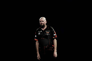 The body language says it all. Raymond van Barneveld looking dejected during the World Championship Darts 2018 at Alexandra Palace, London, United Kingdom on 17 December 2018.