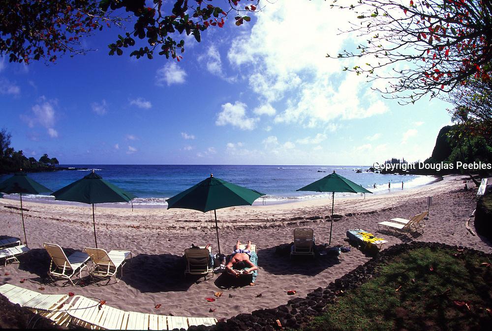 Hamoa Beach , Hana Hotel, Hana Coast, Maui, Hawaii<br />