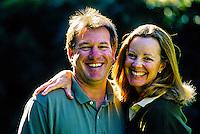 Happy couple, Montecito, California USA