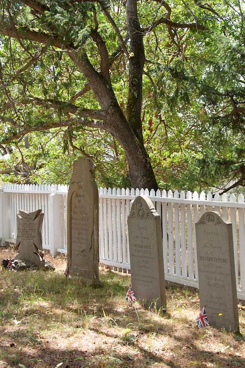 Catholic Cemetery, San Juan Island, Washington, US