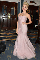 PIXIE LOTT at the opening night of Breakfast at Tiffany's at The Theatre Royal, Haymarket, London on 26th July 2016.