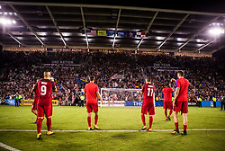 October 6, 2017 - Orlando, Florida, United States - Orlando, FL - Friday Oct. 06, 2017: USMNT during a 2018 FIFA World Cup Qualifier between the men's national teams of the United States (USA) and Panama (PAN) at Orlando City Stadium. (Credit Image: © Mark Thorstenson/ISIPhotos via ZUMA Wire)