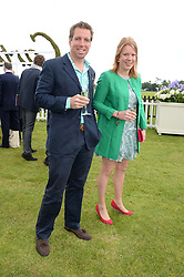 TOR INSKIP and ROBERT DAVIES-JONES at the 2013 Cartier Queens Cup Polo at Guards Polo Club, Berkshire on 16th June 2013.