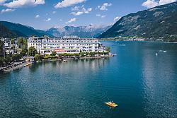 THEMENBILD - Grandhotel Zell am See, aufgenommen am 28. Juli 2020 in Zell am See, Österreich // Grandhotel Zell am See, Zell am See, Austria on 2020/07/28. EXPA Pictures © 2020, PhotoCredit: EXPA/ JFK