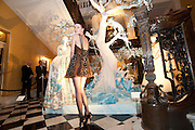BEN GRIMES; , Unveiling of the Dior Christmas Tree by John Galliano at Claridge's. London. 1 December 2009