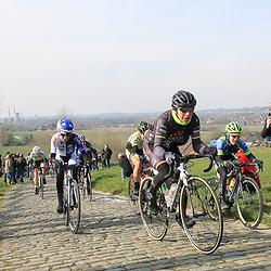 27-02-2016: Wielrennen: Omloop Nieuwsblad vrouwen: Gent<br />GENT (BEL) wielrennen<br />De opening van het Noord Europese wielerseizoen is traditioneel de opening van het wielerseizoen bij de mannen en vrouwen. Giorgia Bronzini