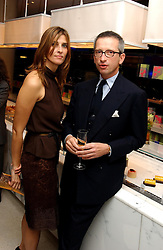 PRINCESS ROSSARIO OF BULGARIA and MR AROLDO ZEVI at a dinner hosted by Cartier to celebrate the opening of the 2004 Frieze Art Fair, held at Yauacha 15-17 Broadwick Street, London W1 on 13th October 2004.<br />