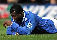 Fotball<br /> Premier League 2004/05<br /> Portsmouth v Chelsea<br /> 28. desember 2004<br /> Foto: Digitalsport<br /> NORWAY ONLY<br /> Yakubu