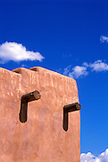 Adobe detail, Taos, New Mexico