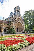 Church of Jak, Vajdahunyad Castle, City Park, Budapest, Hungary