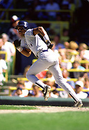 CHICAGO - 1986:  Willie Randolph of the New York Yankees bats during an MLB game versus the Chicago White Sox during the 1986 season at Comiskey Park in Chicago, Illinois. (Photo by Ron Vesely) Subject:   Willie Randolph