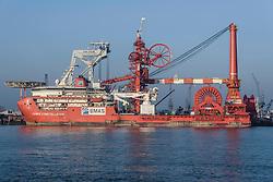 Lewek Constellation, EMAS, Pipelay and construction vessel