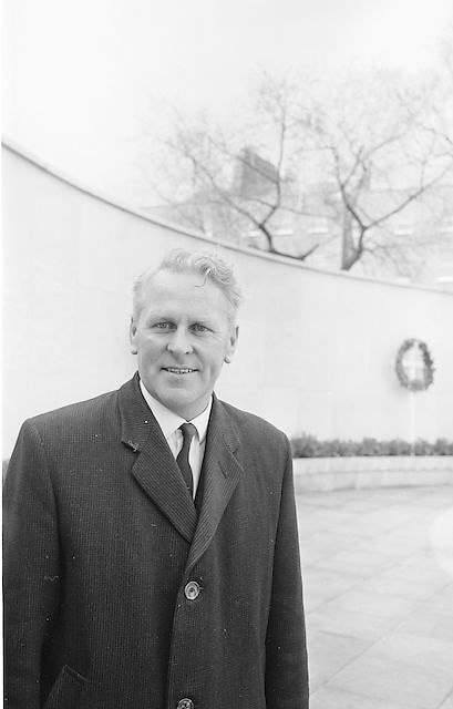 Mr Seamus Ryan, newly elected President of the GAA...Annual Congress, GAA. 28.3.1967. 28th March 1967