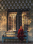 The Ledi Inscription Hall and  Monument, Ledi Sayadaw, Monywa, Myanmar