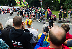 Riders makes his way around the Bristol Circuit.  - Mandatory by-line: Alex James/JMP - 10/09/2016 - CYCLING - Bristol stage of the Tour of Britain