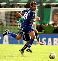 Fotball<br />Argentina<br />11/10/03 VELEZ SARSFIELD (1) Vs NUEVA CHICAGO (0)<br />Ninth match of the Torneo Apertura 2003<br />OBOLDO<br />Foto: Digitalsport