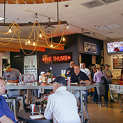 The Thumb is a gas station, car wash, craft shop, wine cellar and barbecue restaurant, all in one.<br /> <br /> Photograph by Jill Richards