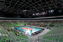 General view of arena during the volleyball match between National team of Turkey and Slovenia in Gold Medal game of Womens U23 World Championship 2017, on September 17, 2017 in SRC Stozice, Ljubljana, Slovenia. Photo by Morgan Kristan / Sportida