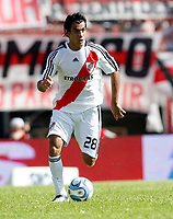 Fotball<br /> Foto: Piko Press/Digitalsport<br /> NORWAY ONLY<br /> <br /> River Plate (0) Vs BOCA Jrs. (1) in the Argentine First Division derby soccer match at Monumental stadium in Buenos Aires, Argentina. October 19, 2008<br /> Here  River Plate AUGUSTO FERNANDEZ