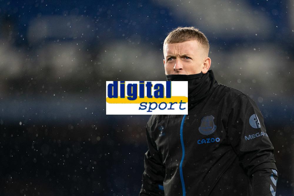 Football - 2020 / 2021 League Cup - Quarter-Finbal - Everton vs Manchester United - Goodison Park<br /> <br /> <br /> Everton Jordan Pickford <br /> <br /> COLORSPORT/TERRY DONNELLY