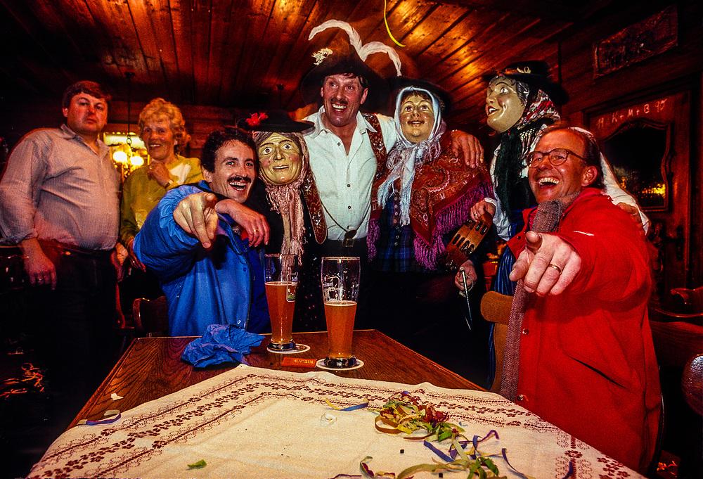 Fasching (Carnival), Garmisch-Partenkirchen, Germany.