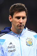 Lionel Messi of Argentina - Argentina vs. Portugal - International Friendly - Old Trafford - Manchester - 18/11/2014 Pic Philip Oldham/Sportimage