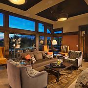 Interior Tetherow Resort and Hotel lounge