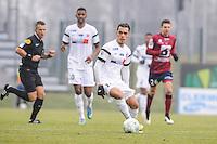 Hamza SAKHI - 24.01.2015 - Clermont / Chateauroux  - 21eme journee de Ligue2<br />Photo : Jean Paul Thomas / Icon Sport
