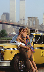 sexy couple in New York City before 9-11