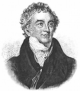 Thomas Young (1773-1829) English physicist and Egyptologist. Undulatory (wave) theory of light. Deciphering of Rosetta Stone. Engraving