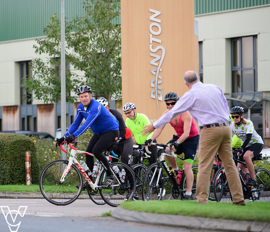 The Branston Century cycle challenge.<br /> <br /> Picture: Chris Vaughan Photography for Branston Ltd<br /> Date: September 16, 2017