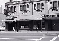 1973 Hollywood Plaza Hotel on Vine St.