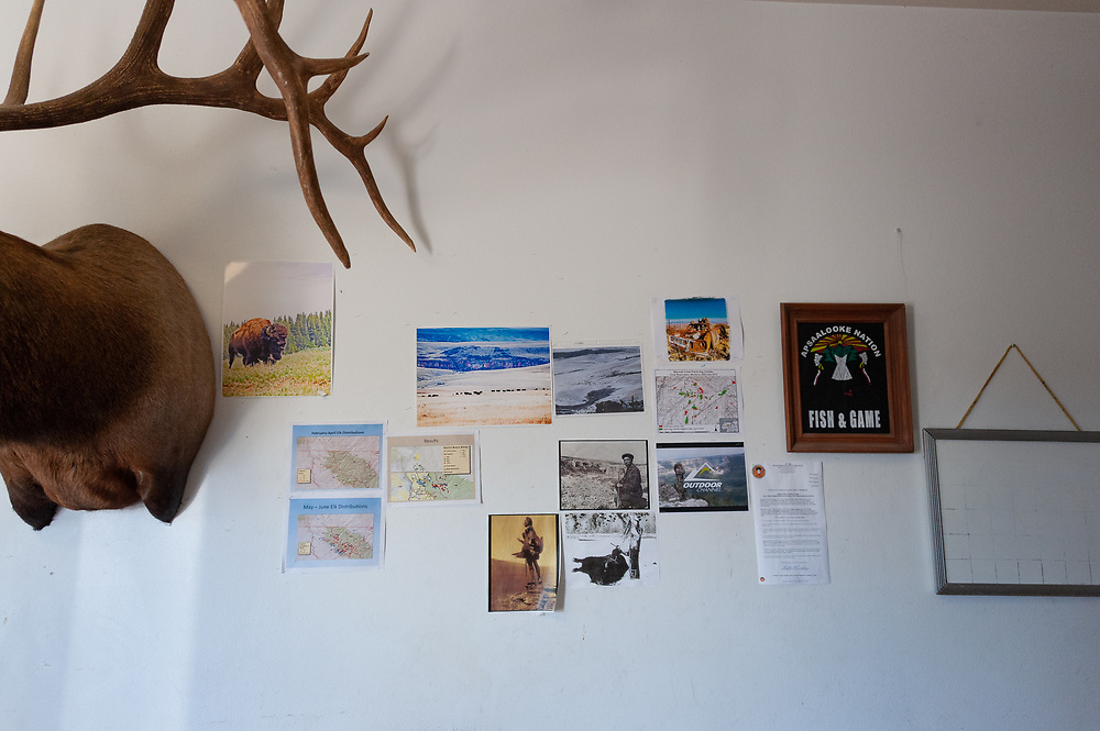Crow Tribe Fish & Game offices.