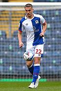 Blackburn Rovers defender Taylor Harwood-Bellis (22) during the EFL Sky Bet Championship match between Blackburn Rovers and Birmingham City at Ewood Park, Blackburn, England on 8 May 2021.