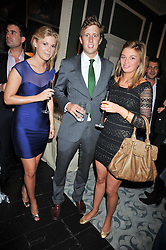 Left to right, HENNY HARDY, GEORGE FROST and SUZIE DANIELS at the launch of Quintessentially Soho at the House of St Barnabas, 1 Greek Street, London on 29th September 2009.<br /> <br /> <br /> <br /> <br /> BYLINE MUST READ: donfeatures.com<br /> <br /> *THIS IMAGE IS STRICTLY FOR PAPER, MAGAZINE AND TV USE ONLY - NO WEB ALLOWED USAGE UNLESS PREVIOUSLY AGREED. PLEASE TELEPHONE 07092 235465 FOR THE UK OFFICE.*