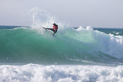 Tanner Hendrickson (HAW)  finished third during the Round Three Heat 8 at EDP BILLABONG PRO CASCAIS 2017 in Cascais, Portugal