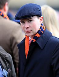 Joseph O'Brien during Champion Day of the 2018 Cheltenham Festival at Cheltenham Racecourse