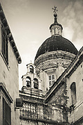 Dubrovnik Cathedral dome, old town Dubrovnik, Dalmatian Coast, Croatia