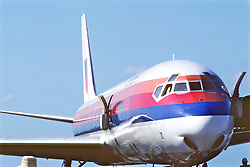 Front Of Commercial Jet