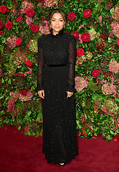 Antonia Thomas attending the Evening Standard Theatre Awards 2018 at the Theatre Royal, Drury Lane in Covent Garden, London